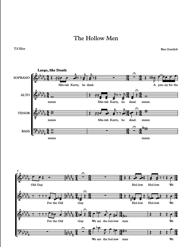 Hollow Men page 1